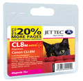 Compatible Jettec CLI-8 Magenta Ink Cartridge (premium quality)