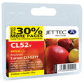 Compatible Jettec CLI-521 Yellow Ink Cartridge (premium quality)