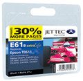 Jettec Compatible T0611 Black Ink (premium quality)
