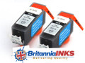 (B) Canon Compatible PGI-520 Black Ink Cartridge Twin Pack