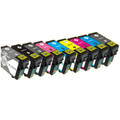 Compatible Epson T1571 - T1579 Black Ink Cartridges (Full set of 9)