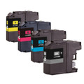 Set of 4 Ink Cartridges For Brother DCP J132W J152W J552DW J752DW J4110DW