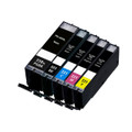 Set of 5 Ink Replace PGI-550/CLI-551 for Canon Pixma iP7250 iP8750 iX6850 MG5450