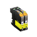 2 Yellow Ink Cartridge LC225XL For Brother MFC-J4420DW J4620DW