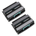 2 Black Compatible Toner Cartridge For Dell 330D 2330DN 2350D 2350DN