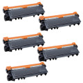 5 Black Compatible Toner Cartridge For Brother HL-L2300D HL-L2320D HL-L2340DW