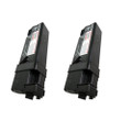 2 Black Toner Cartridge For Dell 1320 1320C 1320CN
