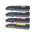 Set of 4 Toner Cartridge For Dell C3760n C3760dn C3765dnf