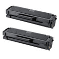 2 Black Toner Cartridge For Dell Printer B1160 B1160W B1165nfw