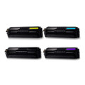 4 Toner Cartridge For Samsung CLT-504L CLP415NW CLX4195FN CLX4195FW