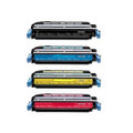 4 Toner Cartridge For HP LaserJet MFP 4730 4730X 4730XM 4730XS CM4730 CM4730F