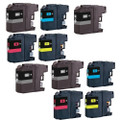 10 Ink Cartridge Replace LC-223 For Brother MFC-J4420DW J4620DW J4625DW J5320DW