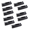 10 Black Toner Cartridges Replace CF283X For HP LaserJet Pro M201dw M201n