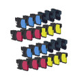 24 Ink Cartridge For Brother MFC 250C 255CW 290C 295CN 297C 670CD 670CDW 930CDN