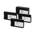 Set of 4 Ink Cartridge For HP Designjet T120 T520