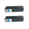 2 Cyan Ink Cartridges For Lexmark 100XL 705 S602 S405 202