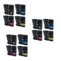 12 Ink Cartridge For Brother LC-985 DCP J125 J315W J515W