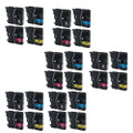 24 Ink Cartridge For Brother LC-985 DCP J125 J315W J515W