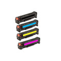 Set of 4 Toner Cartridge For HP Laserjet CP5225 CP5225DN CP5225N