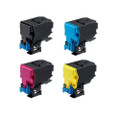 Set of 4 Toner Cartridge For Epson C3900 C3900DN C3900TN