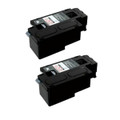 2 Black Toner Cartridge For Epson C1700 C1750N C1750W CX17 CX17NF CX17WF