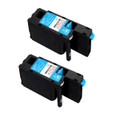 2 Cyan Toner Cartridge For Epson C1700 C1750N C1750W CX17 CX17NF CX17WF