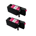 2 Magenta Toner Cartridge For Epson C1700 C1750N C1750W CX17 CX17NF CX17WF