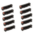 10 Toner Cartridges For HP 210A LaserJet Pro 200 Color MFP M276n M251nw