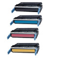 Set of 4 Toner Cartridge For HP Laserjet 4700 4700dn 4700n