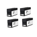 4 Black Ink Cartridge for HP 950XL Officejet Pro 8100 8600 Plus