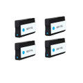 4 Cyan Ink Cartridge for HP 951XL Officejet Pro 8100 8600 Plus