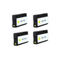 4 Yellow Ink Cartridge for HP 951XL Officejet Pro 8100 8600 Plus
