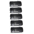 5 Toner Cartridge for HP CE505A Printer P2030 P2035 P2035N P2055D P2055DN