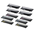 10 Toner Cartridges For Samsung CLT406 Xpress SL-C410W SL-C460W SL-C460FW