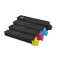 Set of 4 Ink Cartridges For Kyocera FS-C8020MFP FS-C8025MFP