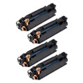 4 Black Compatible CE285A Toner For HP LaserJet Pro P1102 P1102w M1130 M1132mfp