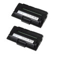 2 Black Compatible Toner Cartridge For DELL 1600 1600N