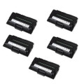 5 Black Compatible Toner Cartridge For DELL 1600 1600N