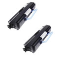 2 Black Toner Cartridge For DELL 1720 1720DN 6K Yield