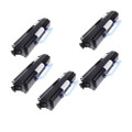 5 Black Toner Cartridge For DELL 1720 1720DN 6K Yield