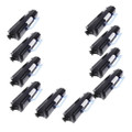 10 Black Toner Cartridge For DELL 1720 1720DN 6K Yield