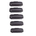 5 Black Toner Cartridges For Dell B1260 B1265 B1260dn B1265DN B1265dnf