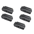 5 Black Toner Cartridge For Samsung ML1910 ML1915 ML2525 ML2525W ML2590