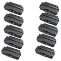 10 Black Toner Cartridge For Samsung ML1910 ML1915 ML2525 ML2525W ML2590