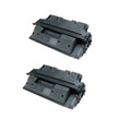 2 Black Toner Cartridge For HP Q1339A 4300 4300dtn 4300n 4300tn