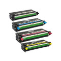 Set of 4 Compatible Laser Toner Cartridges For Xerox Phaser 6180 6180DN 6180MFP