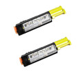 2 Yellow Compatible Toner Cartridge For DELL 3000 3100 3000CN 3100CN