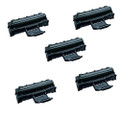 5 Black Toner Cartridges For Samsung ML1610 ML1615 ML1650 ML2010 ML2010P
