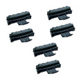 6 Black Toner Cartridges For Samsung ML2010R ML2510 ML2570 ML2571 ML2571N