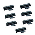 7 Black Toner Cartridges For Samsung ML1610 ML1615 ML1650 ML2010 ML2010P